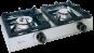 Parker BIG700 Professional 2-liekkinen kaasukeitin vierekkäin 4,5 + 4,5 kW