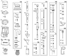 Petromax venttiilli 350-500HK, varaosanumero 191