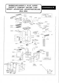 Campingaz kuvun kahva (65058) Expert mallit