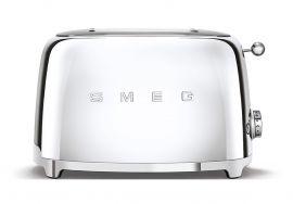 SMEG leivänpaahdin 2:lle viipaleelle, kromi