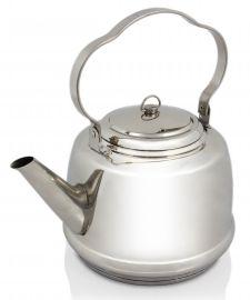 Petromax teepannu 1,5 L, ruostumatonta terästä