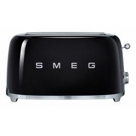 SMEG leivänpaahdin 4:lle viipaleelle, musta